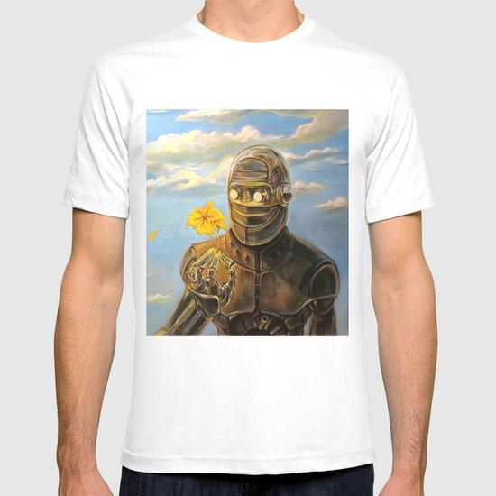 Robot & Flower T-shirt