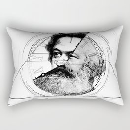 The Time of Marx Rectangular Pillow