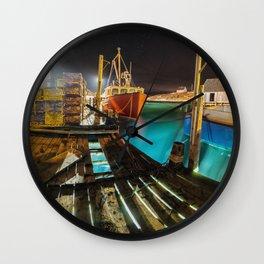 Light in the Wharf Wall Clock