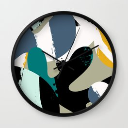Mid-Century Abstract Wall Clock
