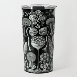Ernst Haeckel - Mycetozoa (black) Travel Mug