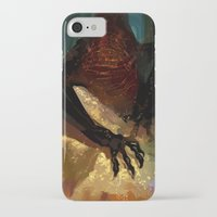 smaug iPhone & iPod Cases featuring princess smaug by Greyson J