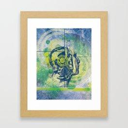 headspin Framed Art Print