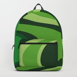 70's Green Vibe Backpack