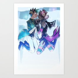 Mahou Shota Spookstar Art Print