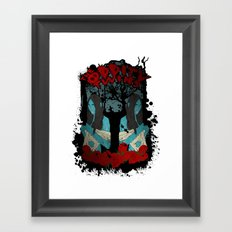 The Oddity Twins Framed Art Print