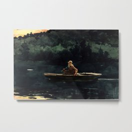 Winslow Homer The Rise Metal Print