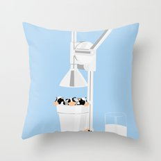 Milkmaid 5000 Throw Pillow