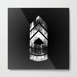 Master Sergeant (weathered) Metal Print