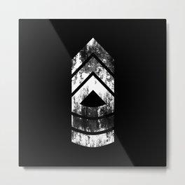 Master Sergeant (weathered) Metal Print
