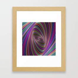 Psychedelic colors Framed Art Print