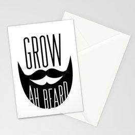Grow Ah Beard Stationery Cards
