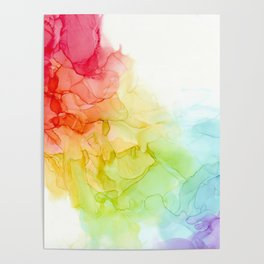 Study in Rainbow Poster