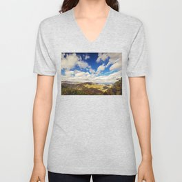 Mountaintop View Unisex V-Neck