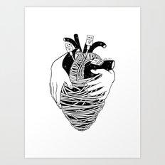 Charge Me Up Art Print