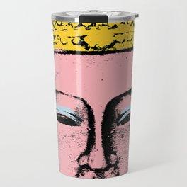Pink Buddha Travel Mug