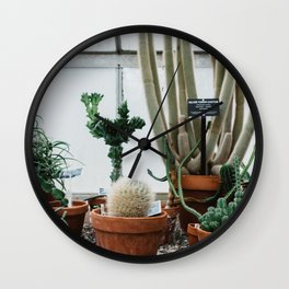 Botany Wall Clock