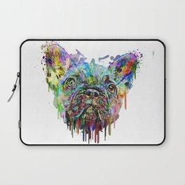 French Bulldog Acrylic Laptop Sleeve