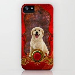 Beautiful golden retriever iPhone Case