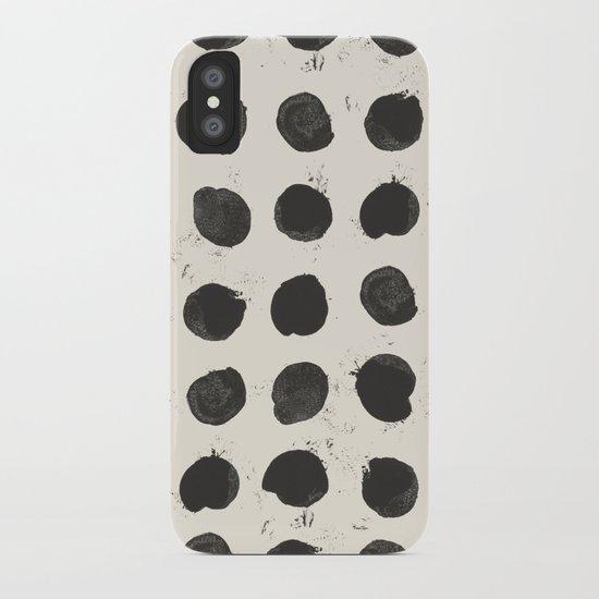 Two / Cream iPhone Case