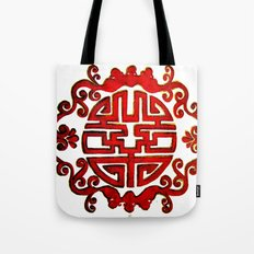 Chinese Stamp Tote Bag