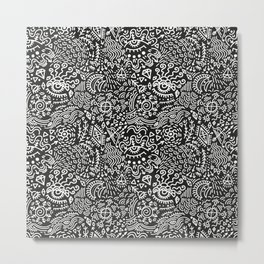 Surreal pattern Metal Print
