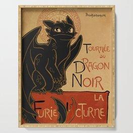 Le Dragon Noir Serving Tray