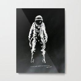 Astro Invert Metal Print
