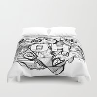 ohio Duvet Covers featuring Ohio. by Stefani Reeder