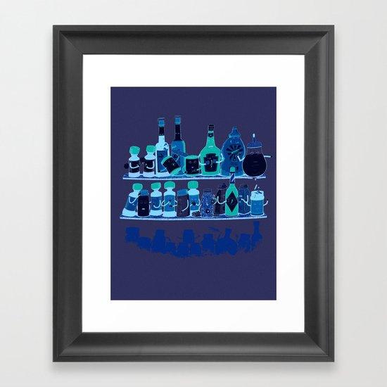 Spicy Living Framed Art Print