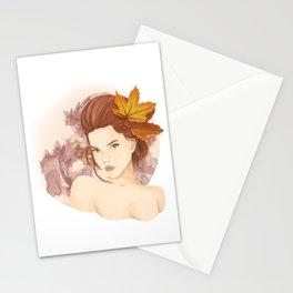 September Girl Stationery Cards