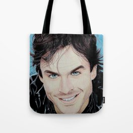 Damon Salvatore Tote Bag