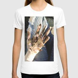 dead denim T-shirt