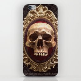 Catacomb Culture - Vintage Human Skull iPhone Skin