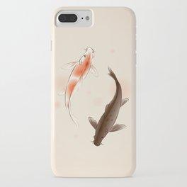 Yin Yang Koi fishes 001 iPhone Case