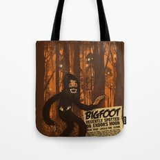 Bigfoot spotted on… Tote Bag