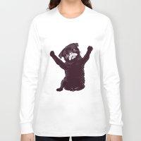 hug Long Sleeve T-shirts featuring Hug by Huebucket