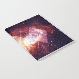 Shining Nebula - Red Notebook