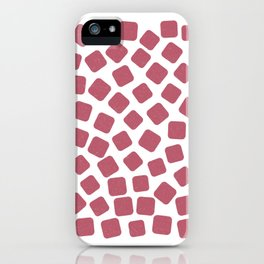 Red Gummies Pattern (Sweets) iPhone Case