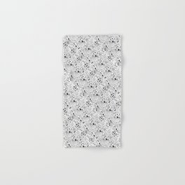 Seinfeld Pattern (White Background) Hand & Bath Towel