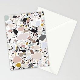 Terrazzo Pattern II. Stationery Cards