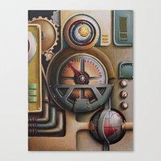 Dials Canvas Print