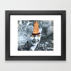 Devilish Ways Framed Art Print