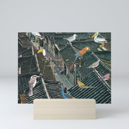 Bird Town Mini Art Print