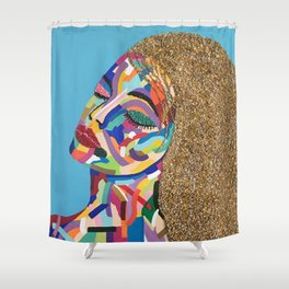 Fauve Lady 2 Shower Curtain