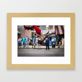 Jumper. Framed Art Print