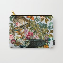 FLORAL AND BIRDS VI Carry-All Pouch