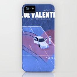 Blue Valentine Movie Poster iPhone Case