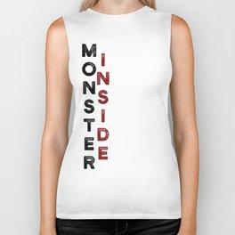 Monster Inside Biker Tank