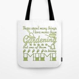 Gardening Mimi Tote Bag